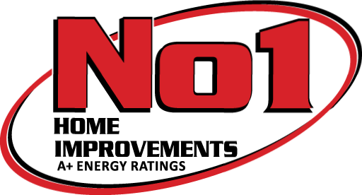 No1 Home Improvments Logo Lite White Bg