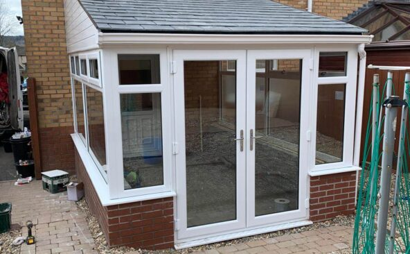 Solid Roof Conservatory New Build (8)