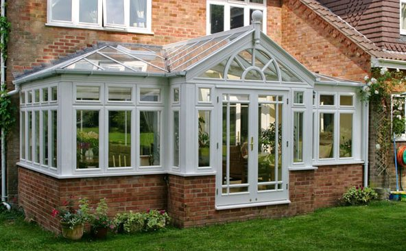 T Shaped Conservatory Example