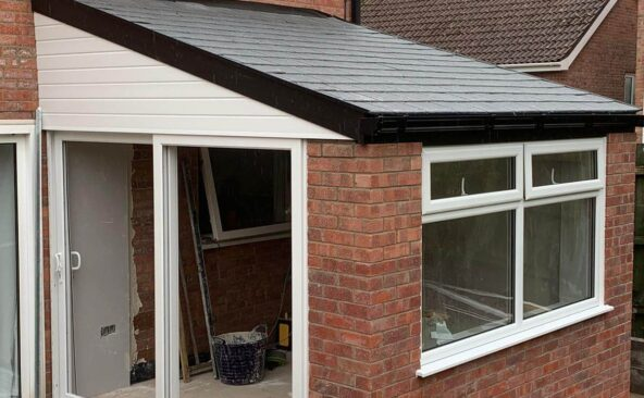 Lean To Solid Roof Conservatory (13)