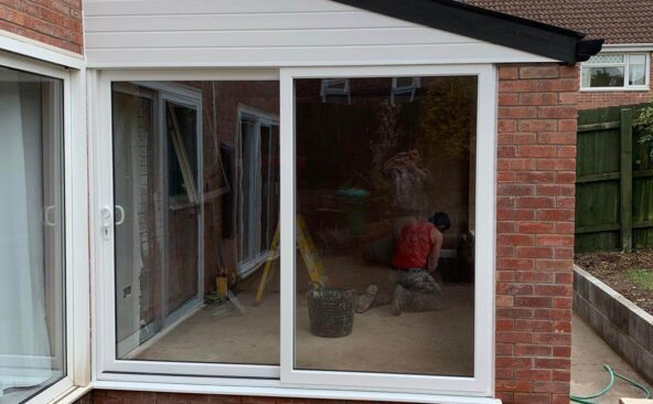 Lean To Solid Roof Conservatory (14)