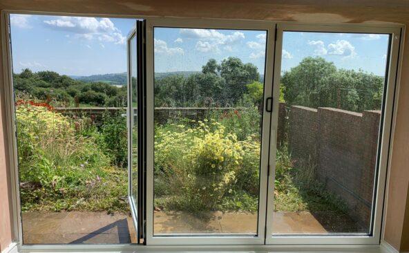 Lantern Roof Bi Folding Doors (4)